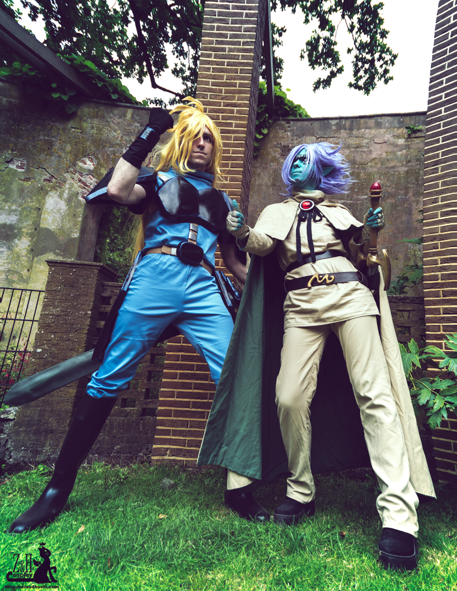 Gourry Gabriev and Zelgadis Greywords