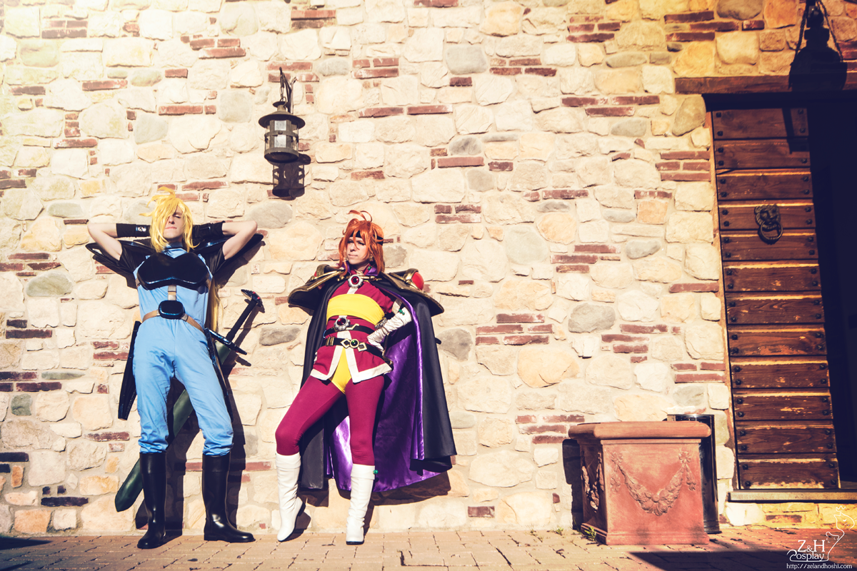 Lina Inverse and Gourry Gabriev
