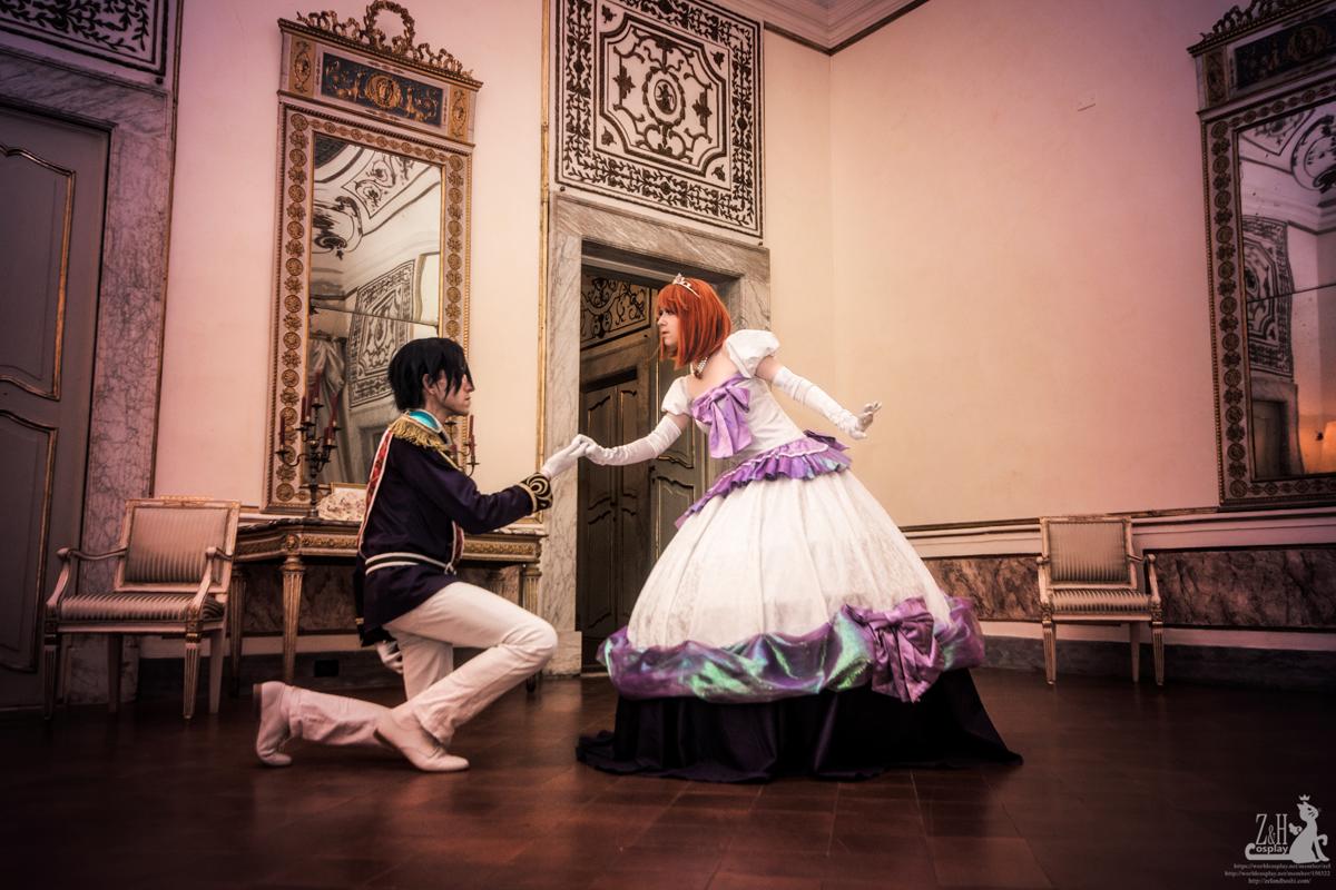 Nanami Haruka and Ichinose Tokiya (Crystal Time)