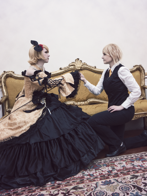 Kagamine Rin&Len - Daugther of Evil